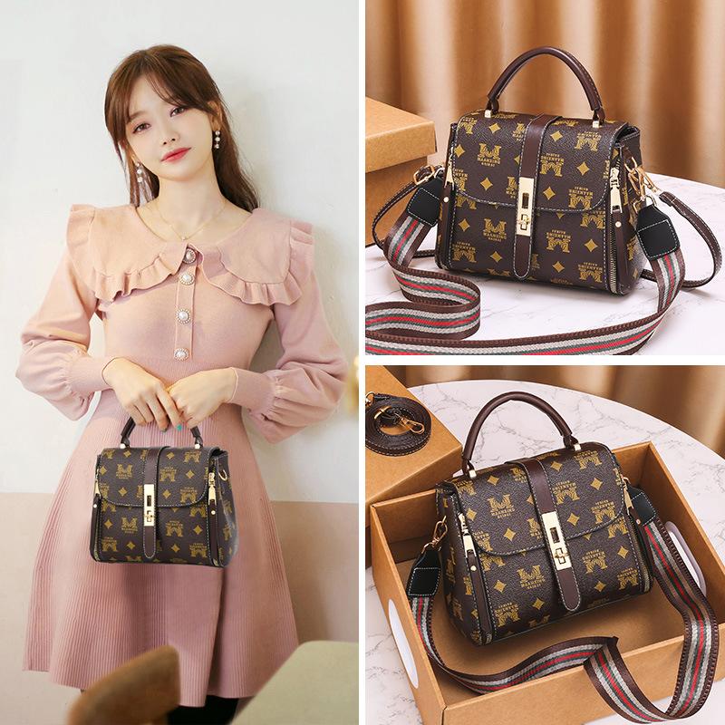 2021春季新款包包欧美复古女包时尚女士手提包