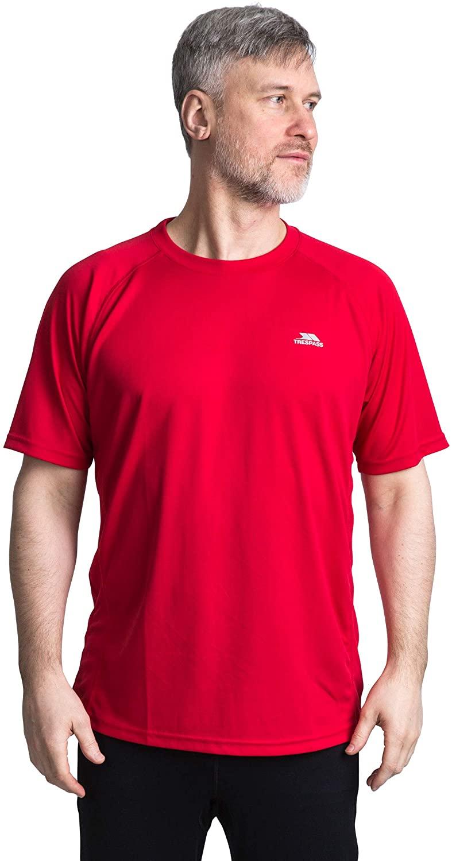 TRESPASS男式 Debase 快干运动健身 T 恤TTM3C89477TD