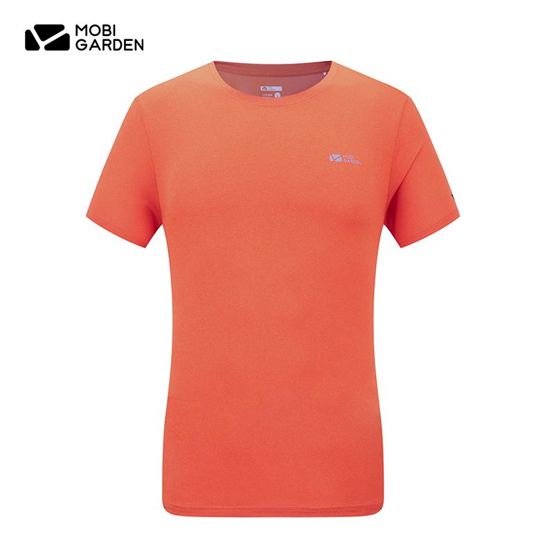 牧高笛户外 速干T恤短袖情侣健身速干衣运动跑步吸汗快干上衣男